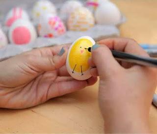 Membuat Kerajinan Tangan Aneka Telur Hias 3