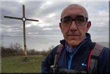 Urbina mendiaren gailurra 698 m. -- 2017ko azaroaren 18an