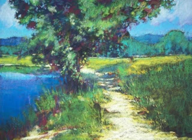 Пастельная живопись. Jane Christie 7