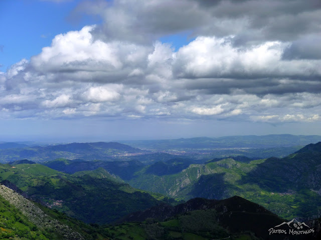 Hacia Oviedo y Bandujo