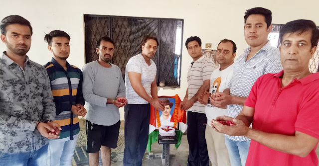 Youth Brahmin Unity Sangh Faridabad remembered Bhagat Singh on Martyrs Day