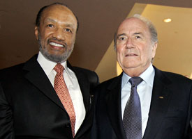 Mohamed Bin-Hammam & Sepp