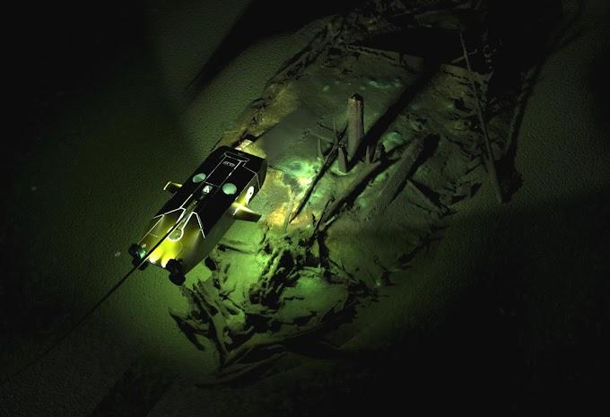 Ερευνητές εντόπισαν τυχαία 40 ναυάγια στον Εύξεινο Πόντο