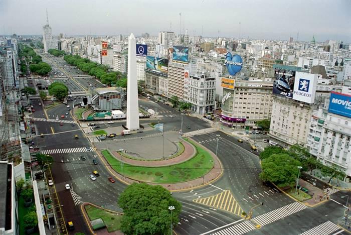 Route Argentine Du Monde Plus Buenos La La Large 9 Julio Aires De