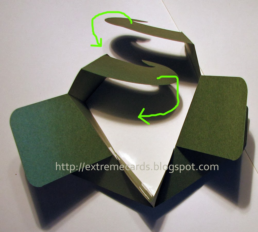 box card diagonal
