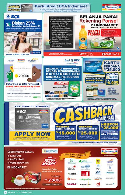 Katalog Indomaret Super Hemat Edisi 1 Mei - 15 Mei 2017