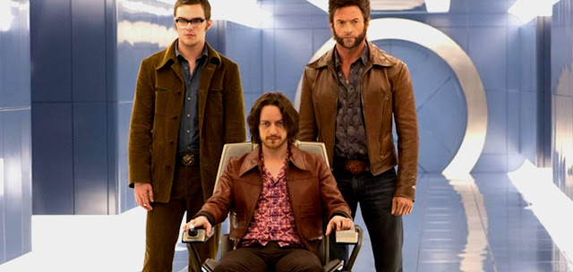 Profesor X, Wolferine si Beast - X-Men: Days Of Future Past