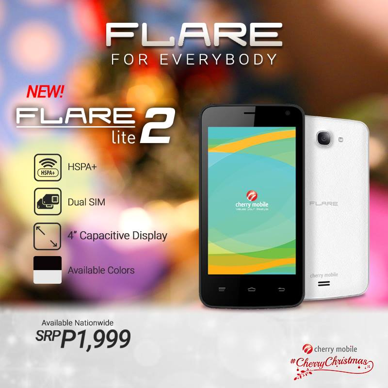 Cherry Mobile Flare Lite 2