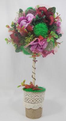 топиарий, дерево счастья, купить топиарий, купить дерево, цветочное дерево