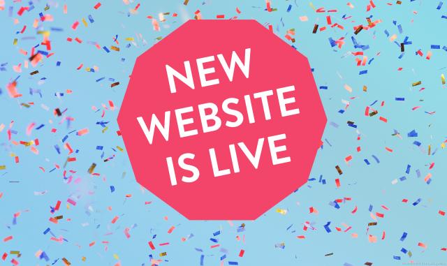 New Website Live