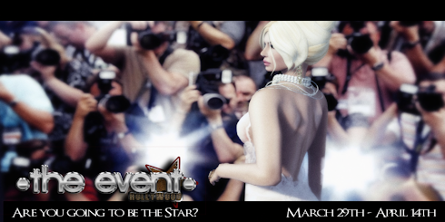 The event - HOLLYWOOD 3/30 to 4 /14