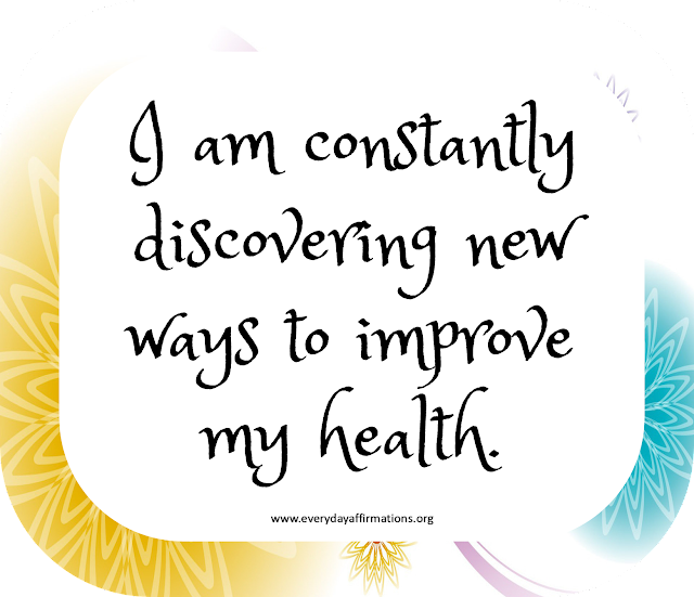 Affirmations for Health, Affirmations for Women, Daily Affirmations