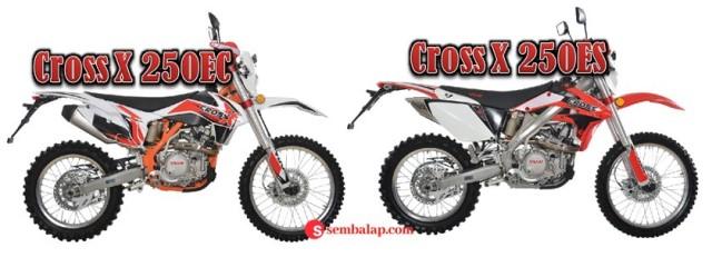 Viar Cross X250 ES vs Cross X250 EC
