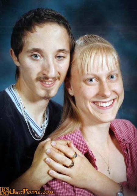 foto pasangan terunik terlucu teraneh dan ternorak di dunia-18