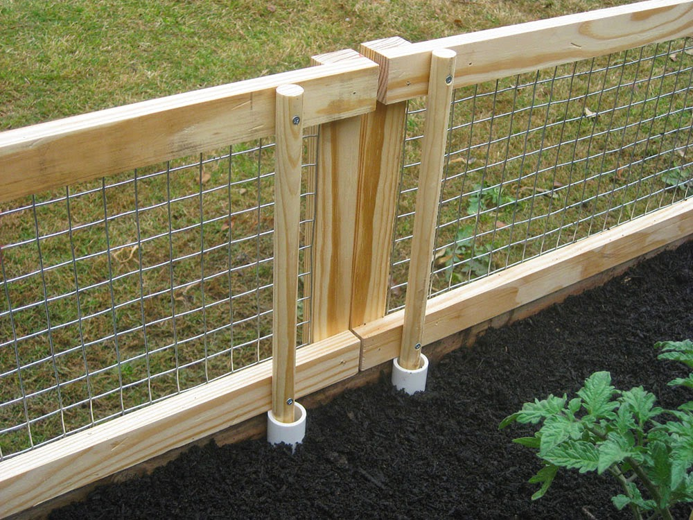 La Maison Boheme Chicken Proof Garden Idea