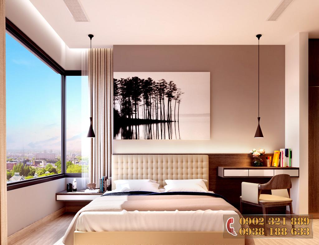 Nội thất căn hộ Kingdom 101 - Phòng ngủ căn hộ 2D