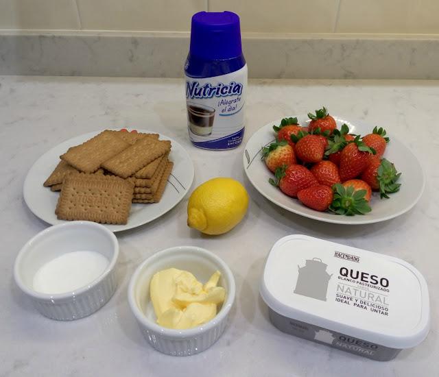 Ingredientes-tarta-de-queso-y-fresas