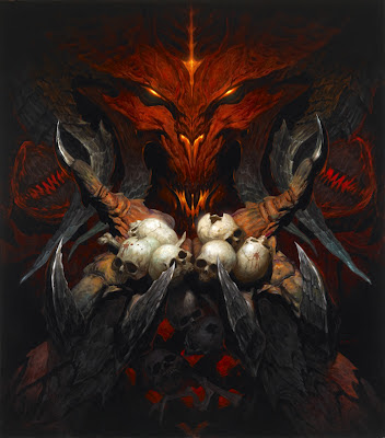 Diablo © Blizzard Entertainment. Painting by Brom