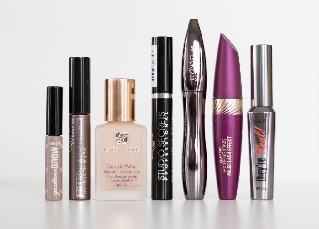 Aufgebraucht und nachgekauft Dezember 2015 Dekorative Kosmetik