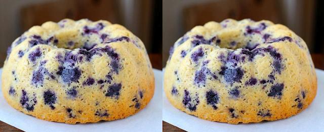 Gambar Banana Blueberry Cake