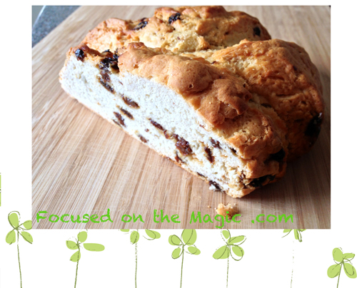 Irish Soda bread, Focused on the Magic