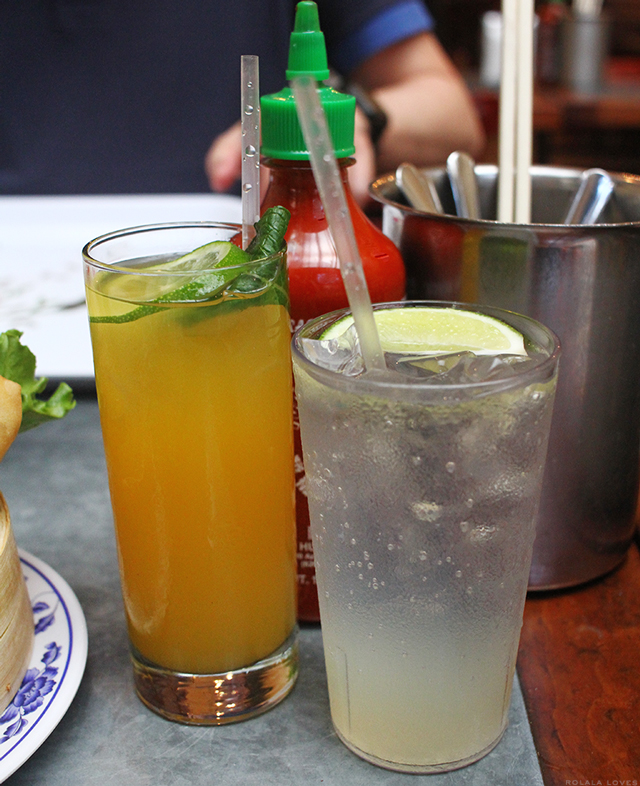 Mango Iced Tea, Lemonade, Kelley & Ping, Kelley & Ping Review, Kelley & Ping New York, Kelley & Ping Soho