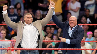 WWE Jason Jordan American Alpha Raw Kurt Angle Son Reveal