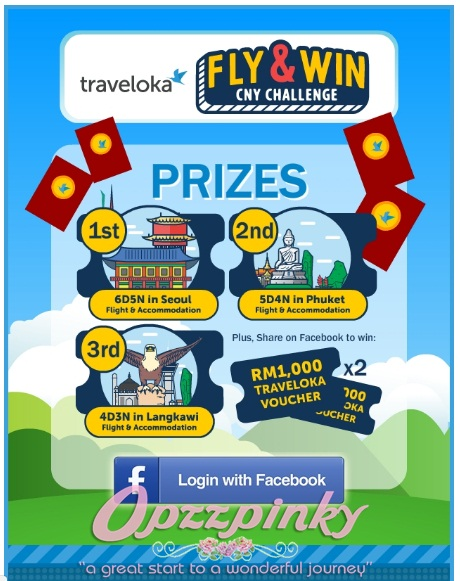 Traveloka Fly & Win CNY Contest