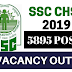 SSC CHSL (10+2) Tentative Vacancy 2019 | 5895 VACANCY