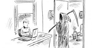 Mystery Fanfare: Cartoon of the Day: Deadline