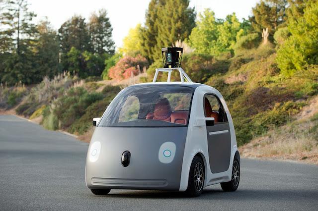 a Google önvezető autója