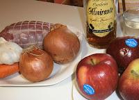 Redondo de ternera a la manzana.