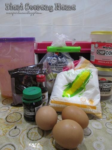 Resepi Mudah Puding Roti Coklat