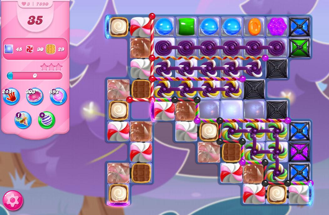Candy Crush Saga level 7890