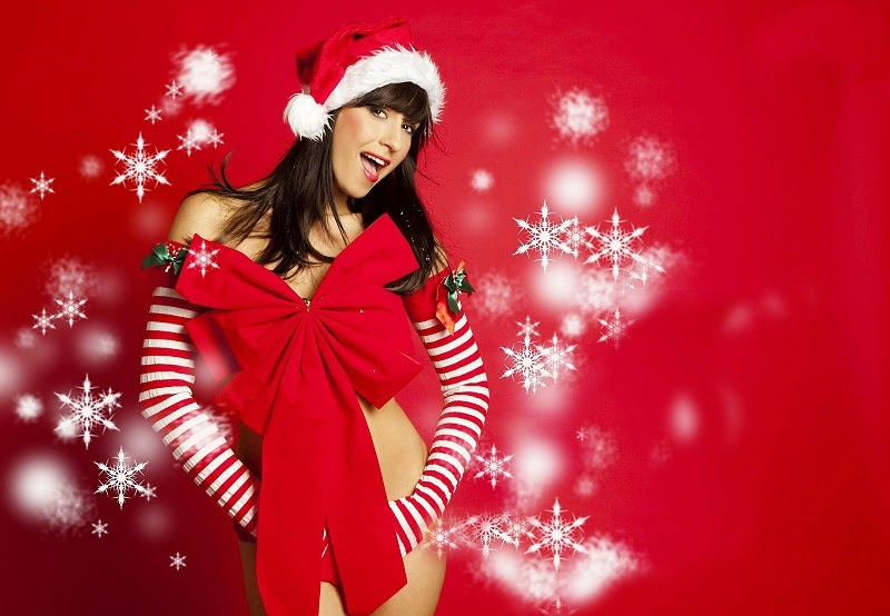 Beautiful Indian Punjabi Girls Desktop Wallpaper Indian Beauties Merry Christmas Santa Girls