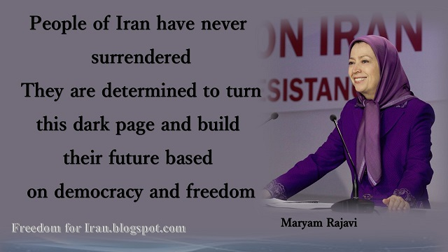 "Iran-Maryam Rajavi's speech at ""Firmness against Iranian regime, end death penalty"" conference hosting UK #MPs Lords February12,2016"