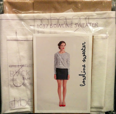 Creates Sew Slow: The Papercut Collective Bowline Sweater