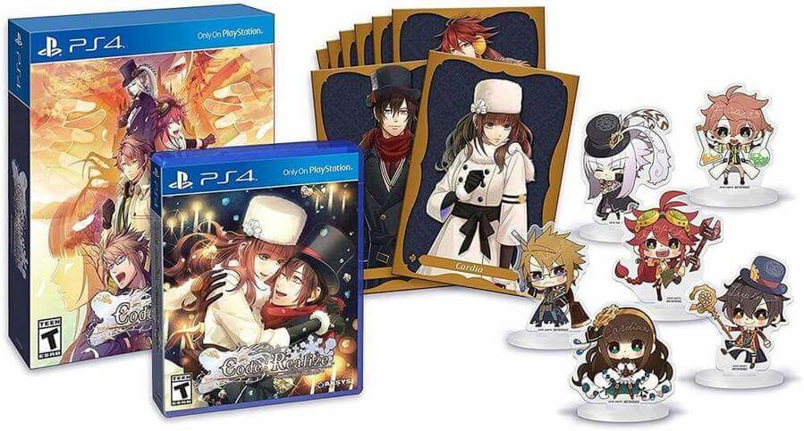 Code: Realize Wintertide Miracles Limited Edition Revealed For PS Vita And PS4