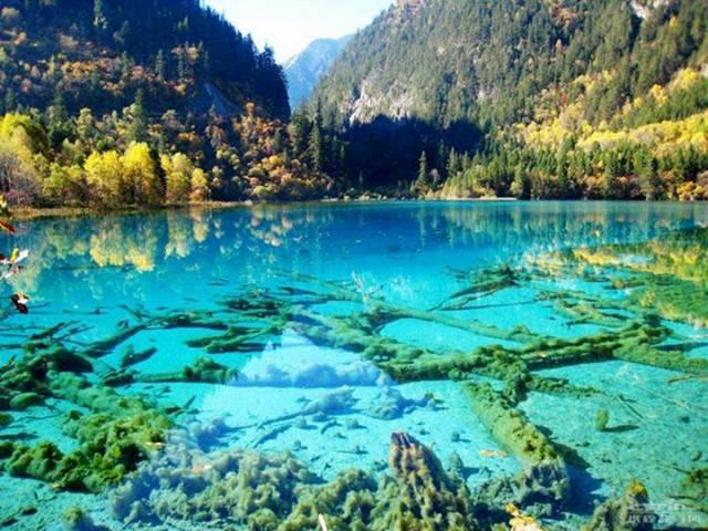 places amazing china jiuzhaigou national park lake turquoise place incredible around earth lakes
