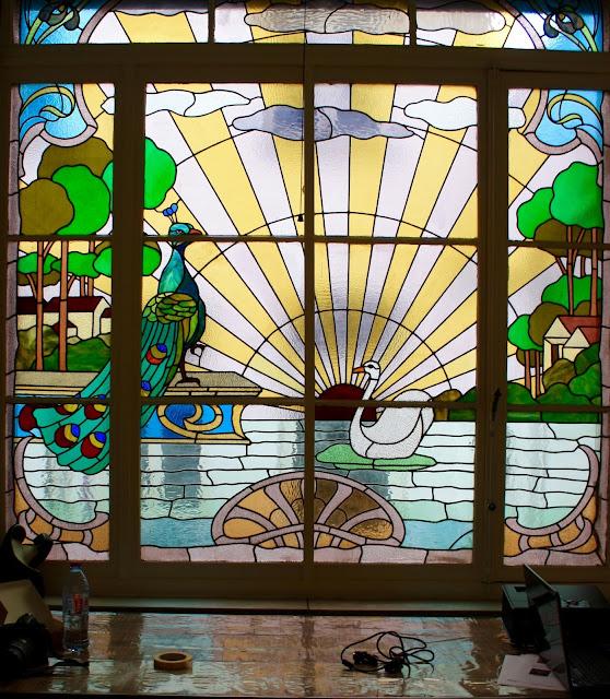 bruxelles art nouveau vitrail art nouveau bruxellois et art du pastel. Black Bedroom Furniture Sets. Home Design Ideas