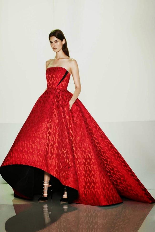 Fashion - Prabal Gurung Evening gowns - Best of Resort 2015