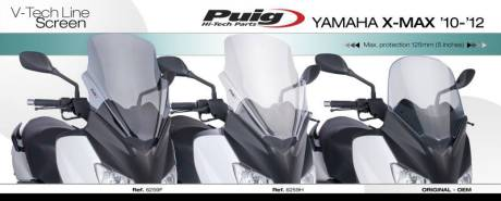 Middle screen yamaha Nmax