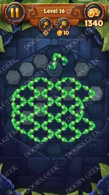 Gems & Magic [Tourmaline] Level 16 Solution, Walkthrough, Cheats