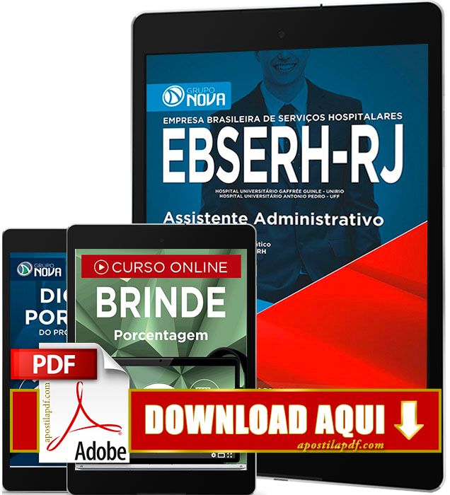 Apostila EBSERH RJ 2016 PDF Download Assistente Administrativo PDF