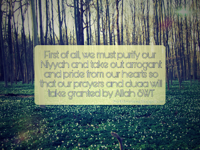 purify heart allah