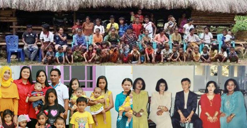 inilah 7 pria dengan istri terbanyak di indonesia misteri kisah