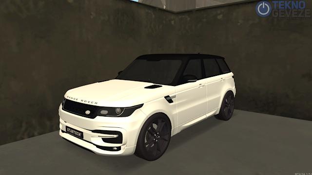GTA SA Range Rover Araba Scripti