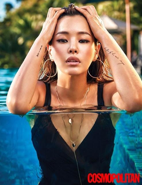Hot girls Honey Lee sexy Miss Korean at Koh Samui Beach 2