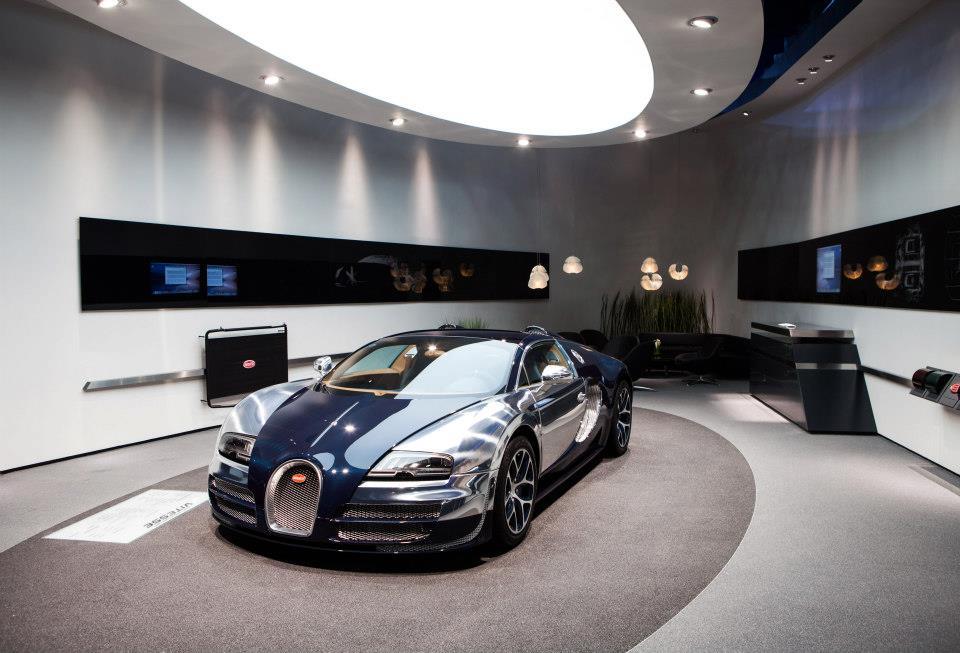 Voitures de luxe 2012 Bugatti Veyron What\u0027s New