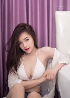 Hot girl Thailand đẹp như mơ